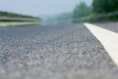 De snelweg Royalty-vrije Stock Afbeeldingen