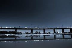 De snelweg Melbourne van Westgate Stock Afbeelding