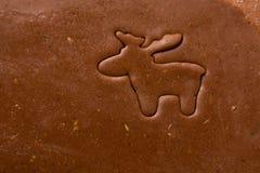 De snijdersrendier van het koekje Stock Fotografie