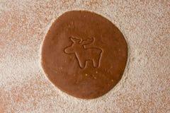 De snijdersrendier van het koekje Royalty-vrije Stock Afbeelding