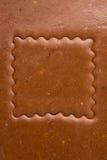 De snijdersvierkant van het koekje Royalty-vrije Stock Fotografie
