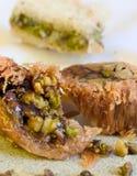 De Snoepjes van Baklava Stock Fotografie
