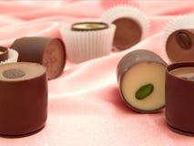 De snoepjes van Chocolat stock fotografie