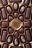 De snoepjes van de chocolade Stock Afbeelding