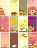 De snoepjes van de kaart Royalty-vrije Stock Foto