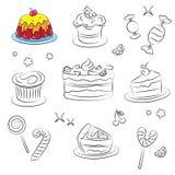 De Snoepjes van de vakantie Vector Illustratie