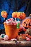 De snoepjes van Halloween stock afbeelding
