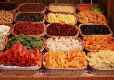 De snoepjes van het gedroogd fruit Stock Afbeelding