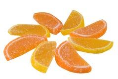 De snoepjes van het oosten van een snoepje van fruitsuikergoed Stock Foto