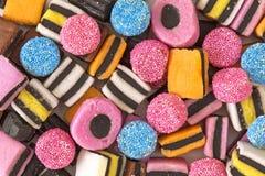 De snoepjes van het zoethout Stock Afbeeldingen