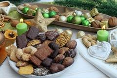 De Snoepjes van Kerstmis Royalty-vrije Stock Afbeeldingen