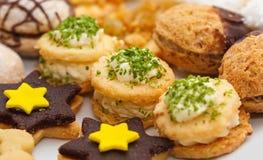 De snoepjes van Kerstmis royalty-vrije stock afbeelding