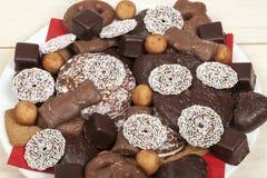 De snoepjes van Kerstmis Stock Foto