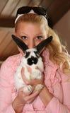 De snor van het konijntje stock afbeeldingen