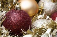 De Snuisterijen en het Klatergoud van Kerstmis Stock Afbeelding