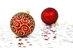 De Snuisterijen van de kerstboom Royalty-vrije Stock Afbeelding