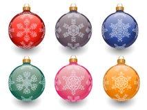 De snuisterijen van Kerstmis Stock Afbeeldingen