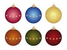 De snuisterijen van Kerstmis Stock Foto's