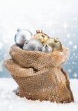 De snuisterijen van Kerstmis van de winter Stock Afbeeldingen