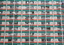 De sociale woningbouw van Hongkong Stock Foto