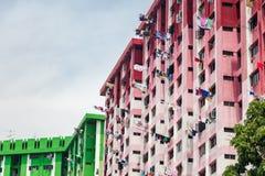 De Sociale woningbouwflat van Singapore royalty-vrije stock afbeelding