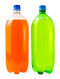 De Soda van de Kalk van de sinaasappel en van de Citroen Stock Afbeelding