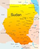 De Soedan royalty-vrije illustratie