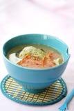 De soep en de ham van vissen Royalty-vrije Stock Foto