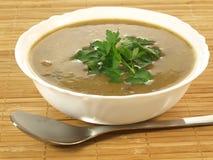 De soep, sluit omhoog royalty-vrije stock foto's