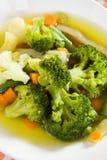 De soep van broccoli Royalty-vrije Stock Fotografie
