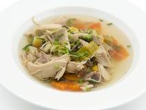De soep van Chicke Royalty-vrije Stock Afbeelding