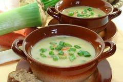 De soep van de aardappel Royalty-vrije Stock Afbeelding