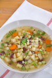 De Soep van de aardappel Stock Foto's