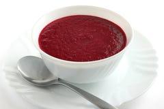 De soep van de biet royalty-vrije stock afbeelding