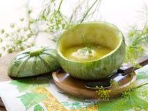 De soep van de courgette Stock Afbeelding