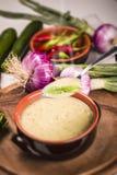De soep van de courgette Royalty-vrije Stock Afbeelding