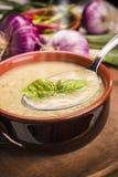 De soep van de courgette Royalty-vrije Stock Foto