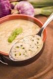 De soep van de courgette Stock Foto's