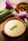 De soep van de courgette Royalty-vrije Stock Foto's