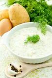 De soep van de dille Stock Foto