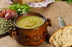 De soep van de erwt Stock Afbeelding