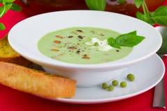 De soep van de erwt Royalty-vrije Stock Fotografie