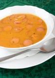 De soep van de goelasj Stock Fotografie