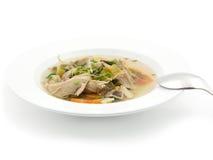 De soep van de kip Stock Foto