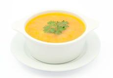 De soep van de kip royalty-vrije stock foto