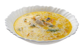 De soep van de kip Stock Afbeelding