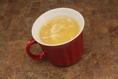 De soep van de kippennoedel Royalty-vrije Stock Foto