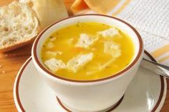 De soep van de kippennoedel royalty-vrije stock fotografie