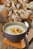 De soep van de knoflookroom Royalty-vrije Stock Foto