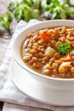 De soep van de linze Royalty-vrije Stock Fotografie